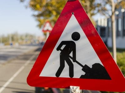 Roadwork, road work, construction