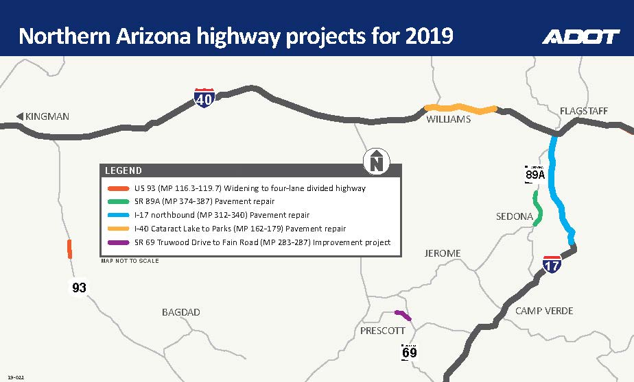 Busy Year Ahead for Highway Projects in Northern Arizona ...