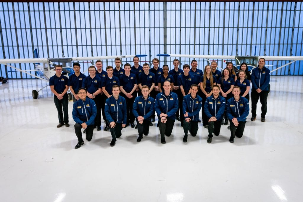 Embry-Riddle Flight Team Places Third at National