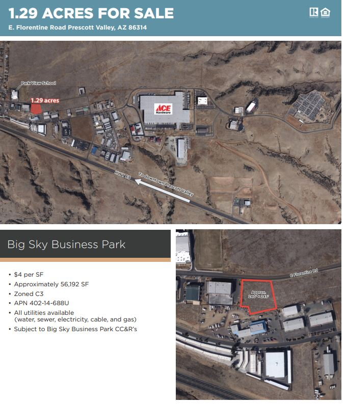commercial property, for sale, real estate, prescott valley