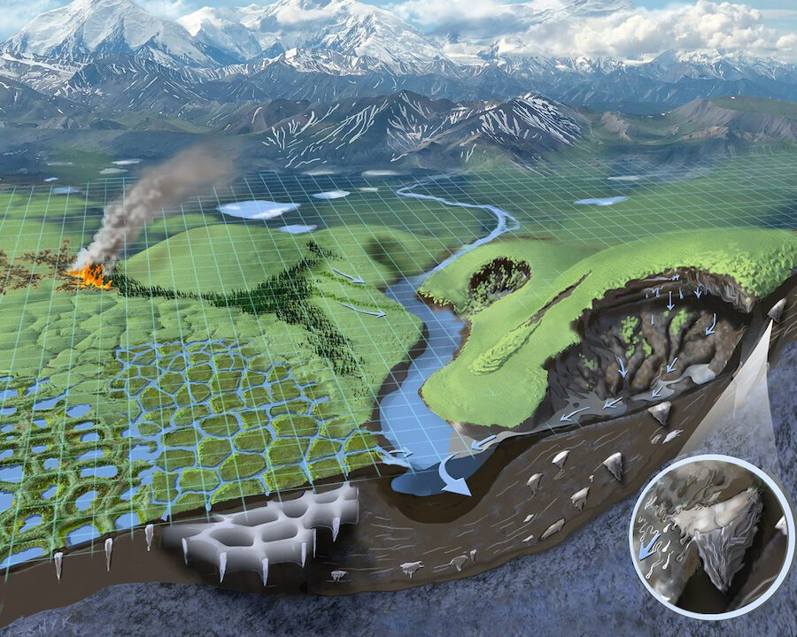 Team Awarded $2 Million NSF Grant to Teach Virtual Explorers About Permafrost and Arctic Climate Change