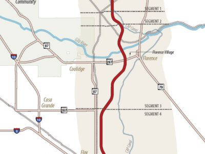 ADOT selects final North-South Corridor route in Pinal County signals az