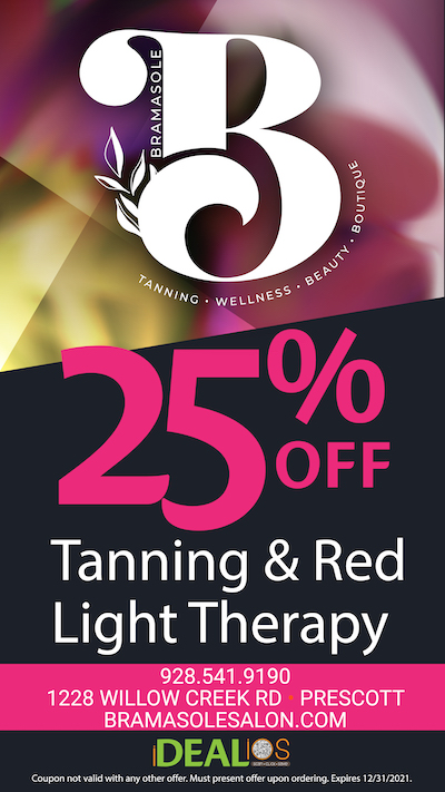 online coupon deal tanning light therapy prescott