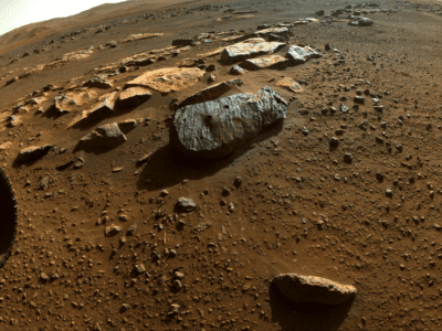NASA's Perseverance Rover Collects Puzzle Pieces of Mars' History signals az